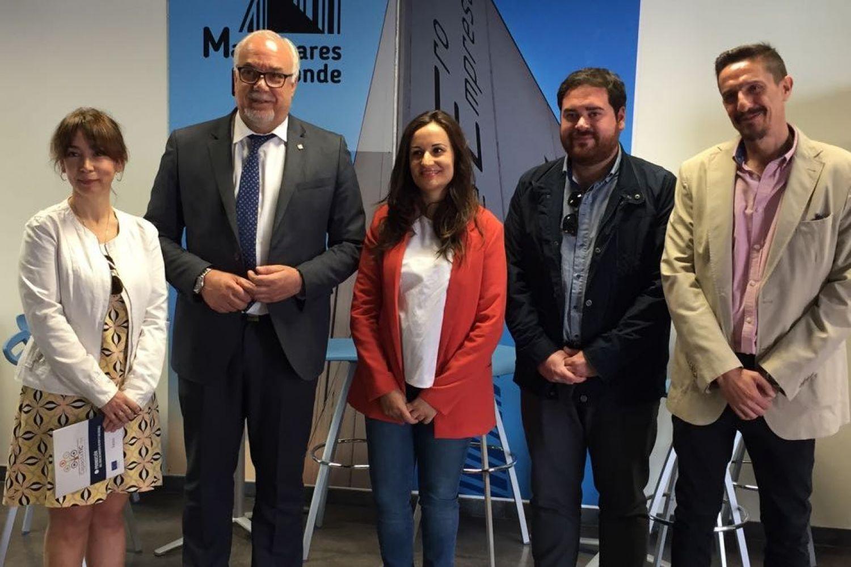 Prado Zúñiga, Julián Nieva, Eugenia Fernández, Pablo Camacho y José Miguel Pérez Taboada.