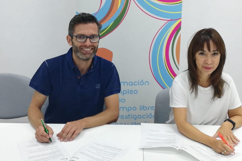 Eugenia Fernández y Daniel Collado.