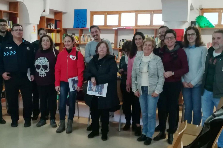 Grupo de discusión en Molinicos (Albacete)
