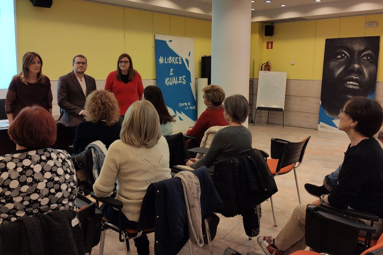 Inauguración del curso en el Centro de la Mujer de Albacete.